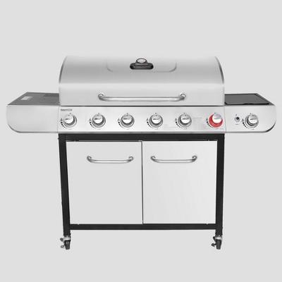 Royal Gourmet 6-Burner Liquid Propane Gas Grill with Sear and Side Burner SG6002RG