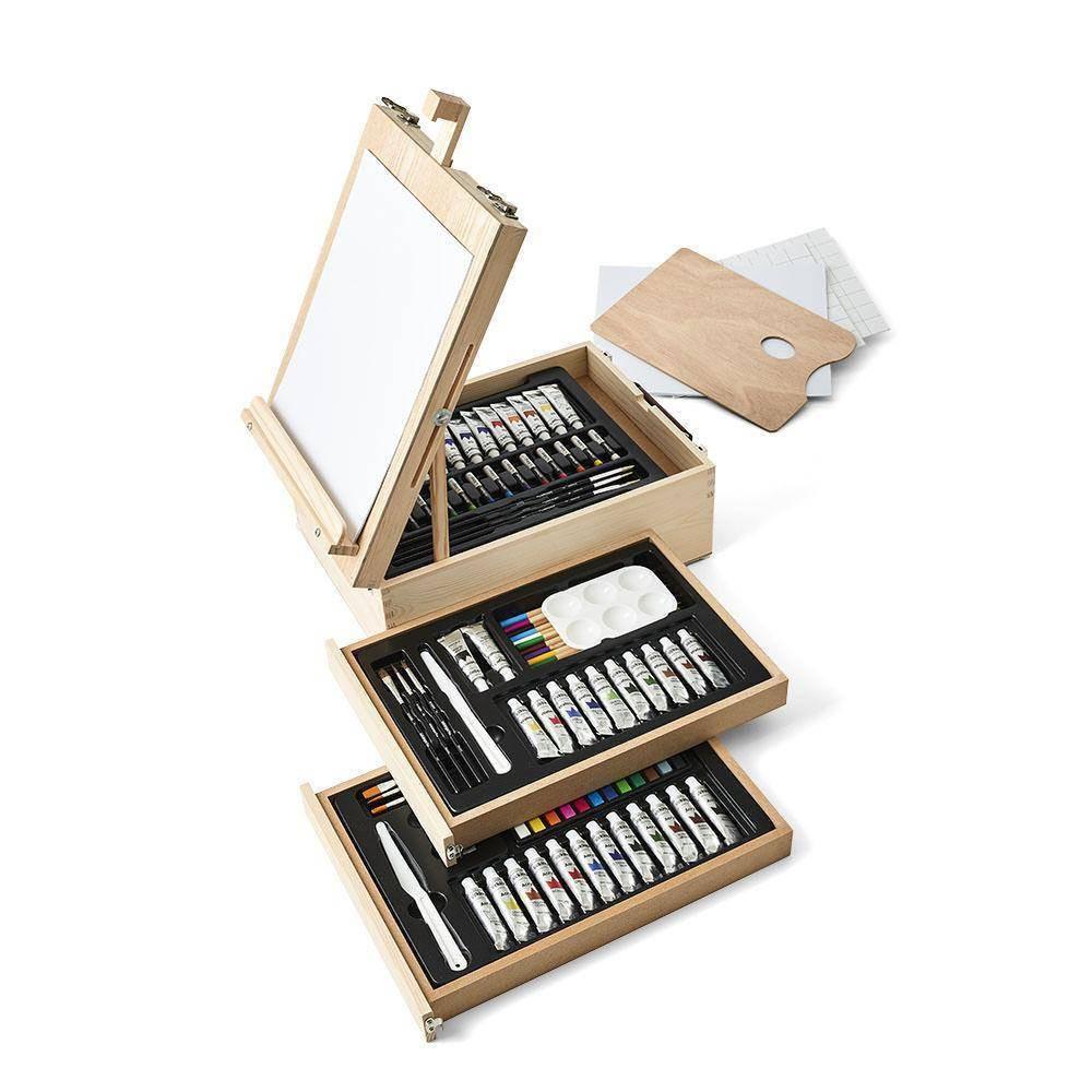 Image of Kingart 105ct Mixed Media Easel Art Kit