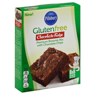 Baking Mixes: Pillsbury Gluten Free Chocolate Fudge Brownie Mix