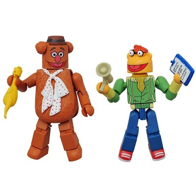 Diamond Comic Distributors, Inc. Muppets Minimates Series 1 2-Pack: Fozzie Bear & Scooter