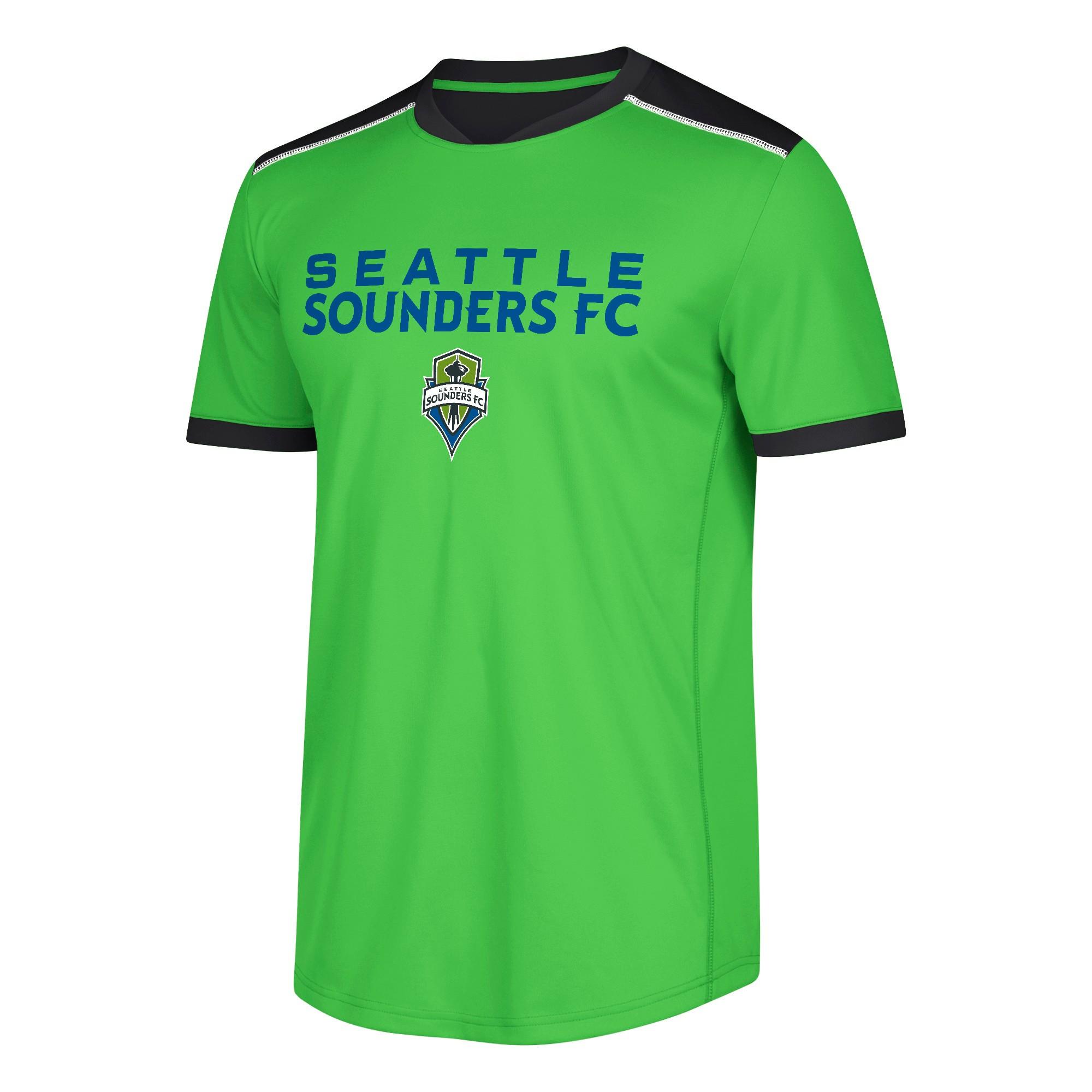 Men's Base Soccer Jersey Seattle Sounders XL, Multicolored