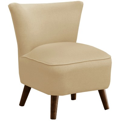Skyline Furniture Custom Upholstered Mid Century Modern Armless Chair
