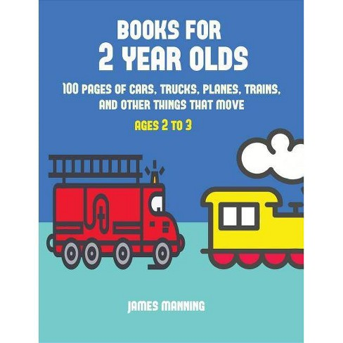 Books for 2 Year Olds - by  James Manning (Paperback) - image 1 of 1