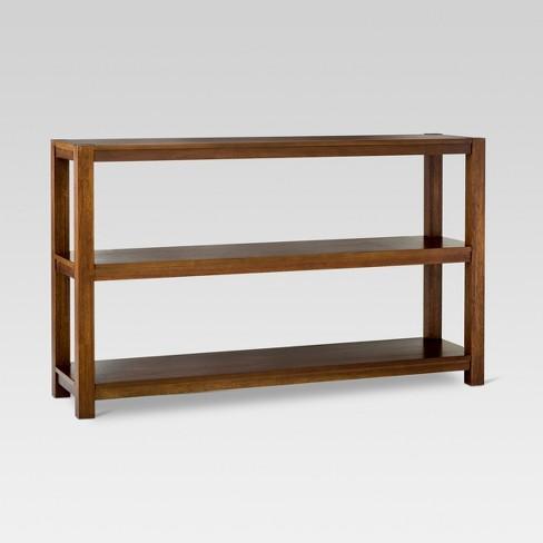 Parsons 32 Horizontal Bookcase Espresso