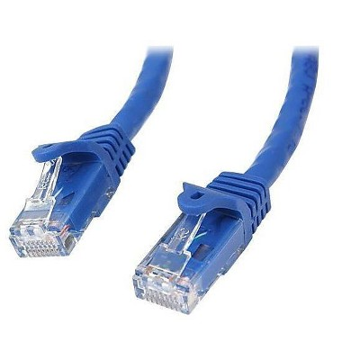 StarTech 5' Blue Snagless Cat6 UTP Patch Cable, ETL Verified N6PATCH5BL