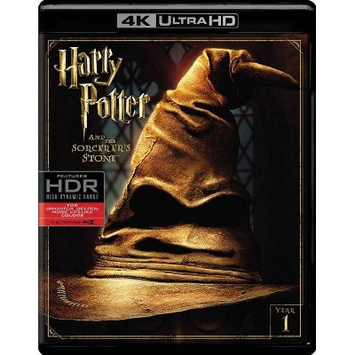 Harry Potter And The Sorcerer's Stone (4K/UHD)