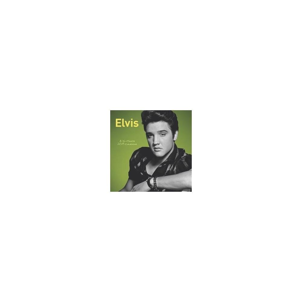 Elvis 2019 Calendar - (Paperback)
