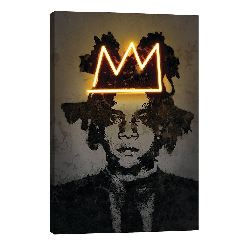 26 34 X 18 34 Basquiat By Octavian Mielu Unframed Wall Canvas Print Icanvas