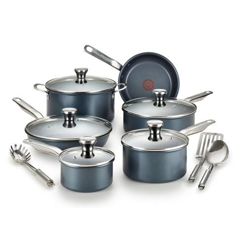 T-fal Endurance Collection Platinum Nonstick 14pc Cookware Set - image 1 of 4
