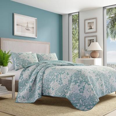 Laguna Beach Quilt & Sham Set Turquoise - Tommy Bahama