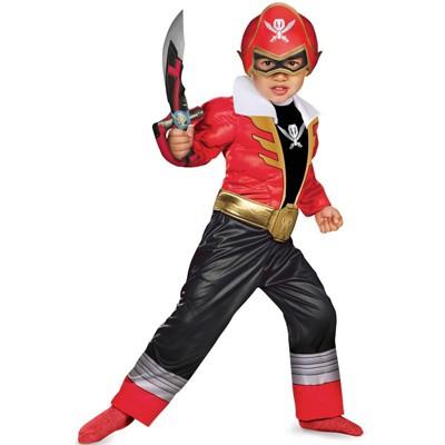 Power Rangers Super Megaforce Red Ranger Muscle Toddler Costume