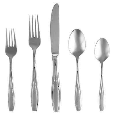 Gorham Frosted Tulip 5-pc. Silverware Set