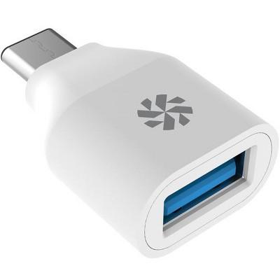 Kanex USB-C to USB 3.0 Mini Adapter - White - 2pk