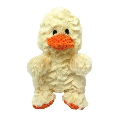 """Multipet Wrinkleez Duck Dog Toy - 9"""""""