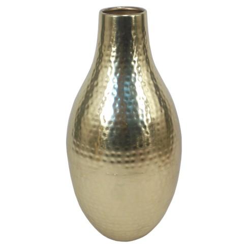 135 Gold Metallic Vase Threshold Target