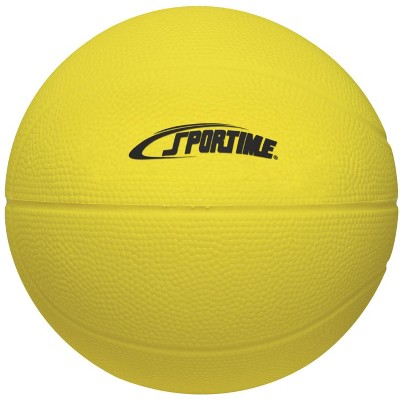 Sportime Super-Safe Junior Basketball, 7 Inches, Yellow