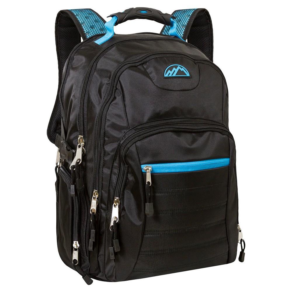 Trailmaker Deluxe Multi Zip Backpack - Black