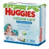 Huggies Natural Care Cucumber & Green Tea Scented Baby Wipes (Select Count) - image 4 of 4