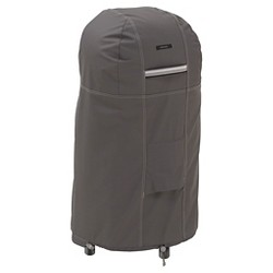 Ravenna Smoker Cover Round Medium - Dark Taupe