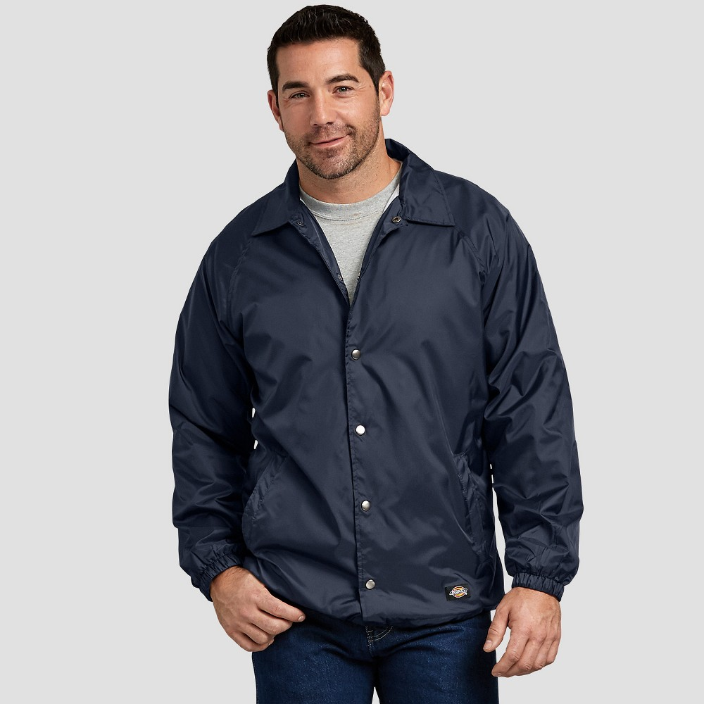 Dickies Men's Long Sleeve Jackets - Deep Navy S