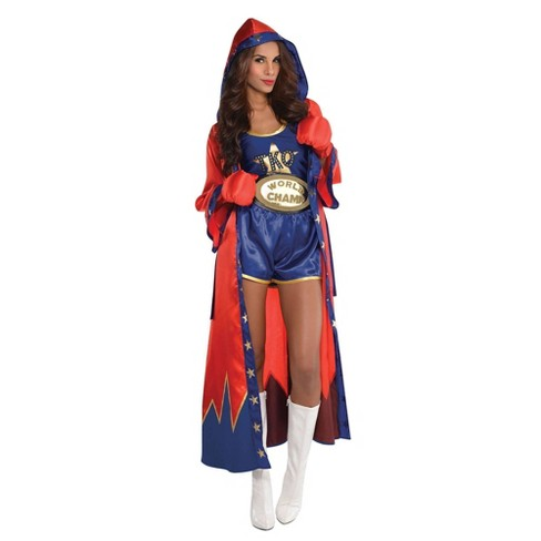 Women's Knockout Halloween Costume - image 1 of 1