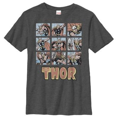 Boy's Marvel Classic Thor Battle Scenes T-Shirt