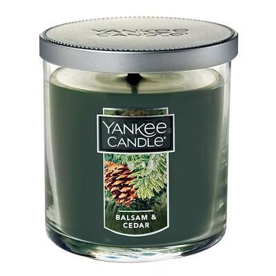 Yankee Candle 7oz Tumbler Jar - Balsam & Cedar