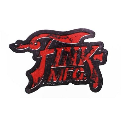 Crowded Coop, LLC BioShock Fink Manufacturing Tin Sign - image 1 of 1