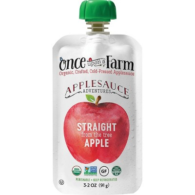 Baby Food: Once Upon a Farm Applesauce Adventures
