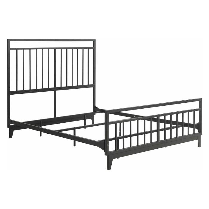 Caden Metal Bed - Foremost - image 1 of 5