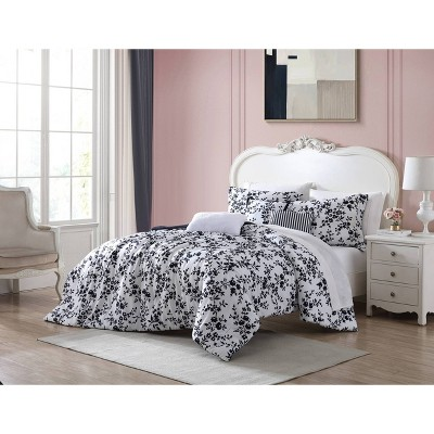 Pretty Floral Comforter Bonus Set - Betseyville