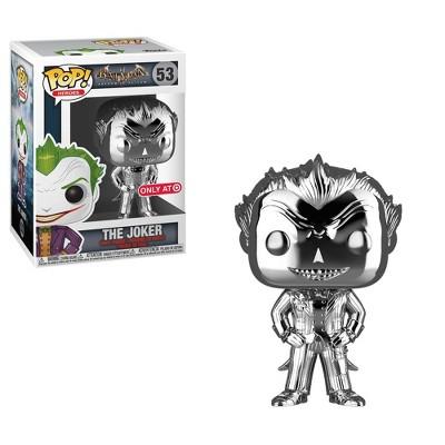 Funko POP! Heroes: DC Comics Batman Arkham Asylum - The Joker (Silver Chrome)(NYCC Debut)