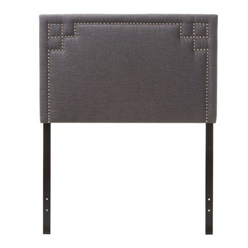 Geneva Modern And Contemporary Fabric Upholstered Headboard - Twin - Baxton Studio - image 1 of 4