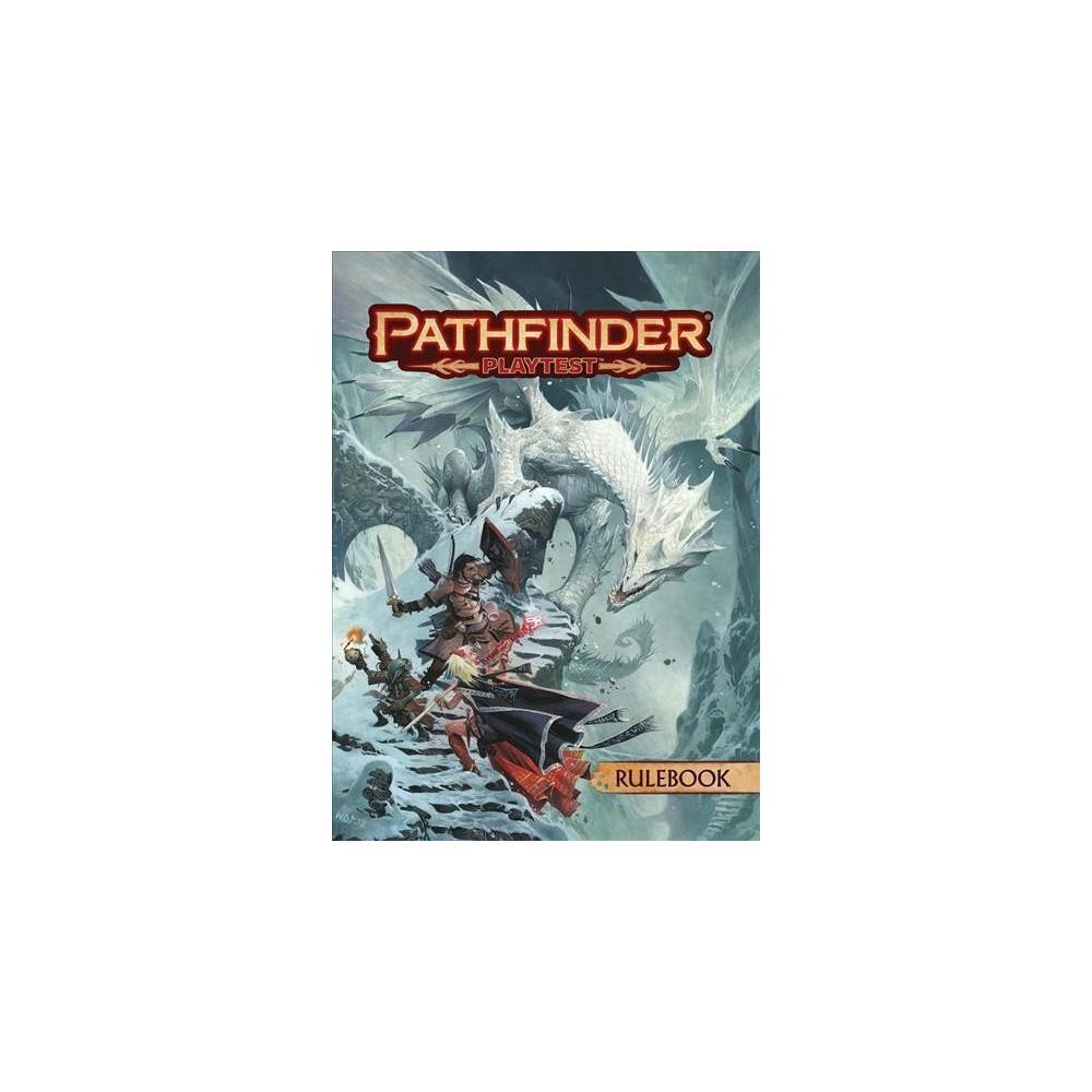 ISBN 9781640780842 product image for Pathfinder Playtest Rulebook - (Paperback)   upcitemdb.com