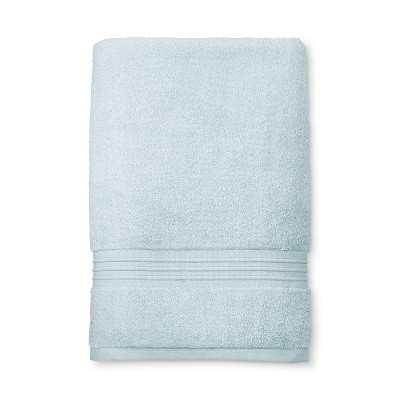 MicroCotton® Spa Bath Sheet Light Blue - Fieldcrest®