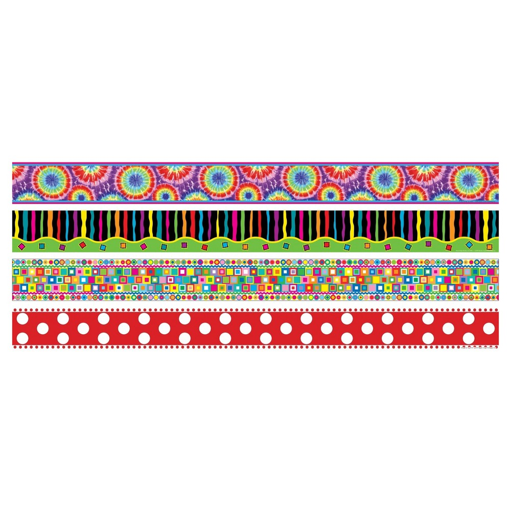 Image of Barker Creek Bulletin Board Border Set 4ct - In the Groove