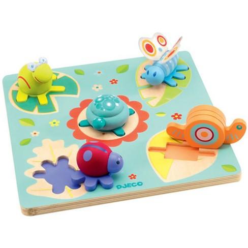 Djeco Easy Grip 3D Pond Puzzle - image 1 of 1