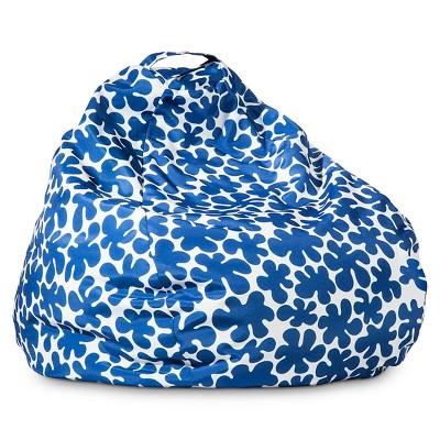 Marimekko For Target Bean Bag Paprika Print Blue