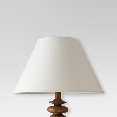 Modified Empire Fabric Lamp Shade - Large - White - Threshold™