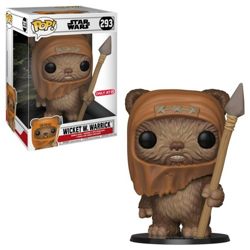 "Funko POP! Movies: Star Wars - 10"" Wicket W. Warrick (Target Exclusive) - image 1 of 3"