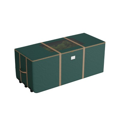 Elf Stor 9' Rolling Christmas Tree Storage Duffel Bag Green