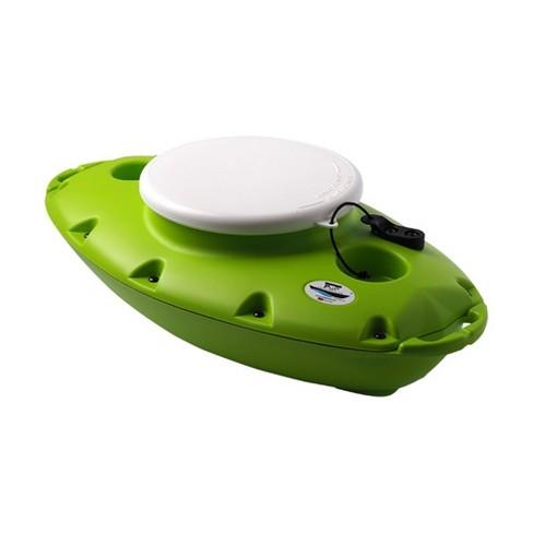 Creekkooler Pup Portable Floating Insulated 15 Qt Kayak Beverage Cooler, Green - image 1 of 6