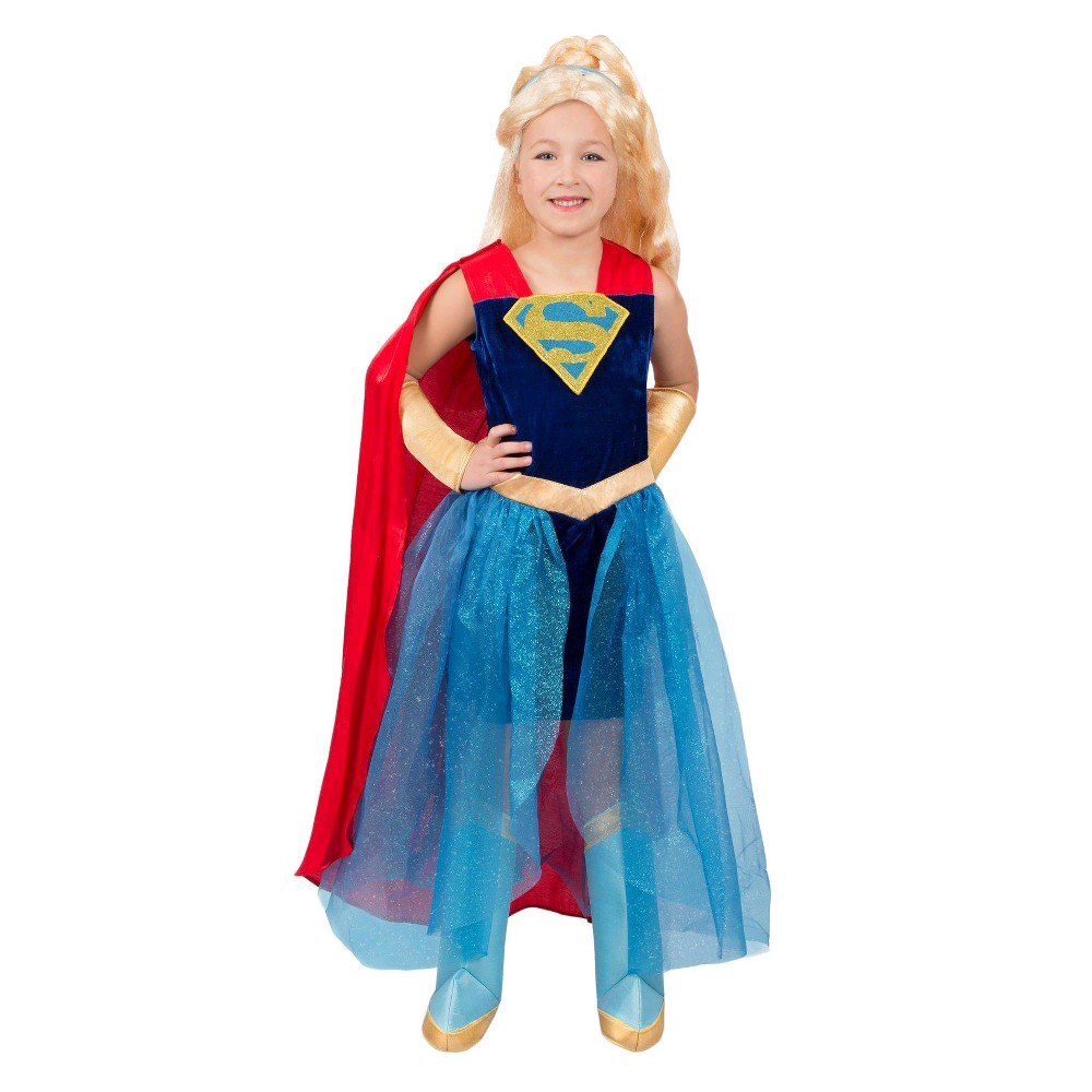 Image of Halloween Girls' DC Super Hero Girls Premium Formalwear Costume - X-Large, Girl's, MultiColored