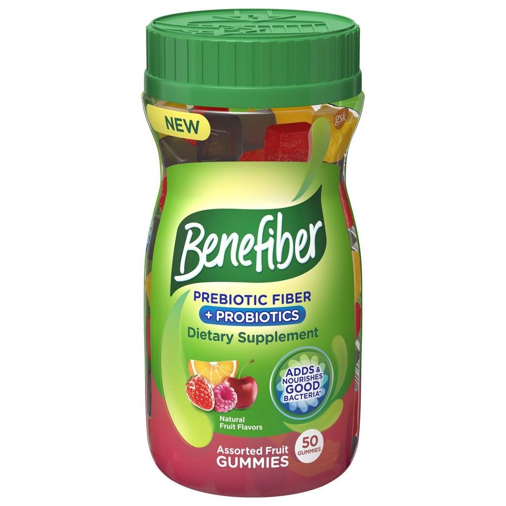 Benefiber Fiber+ Probiotic Gummies - 50ct