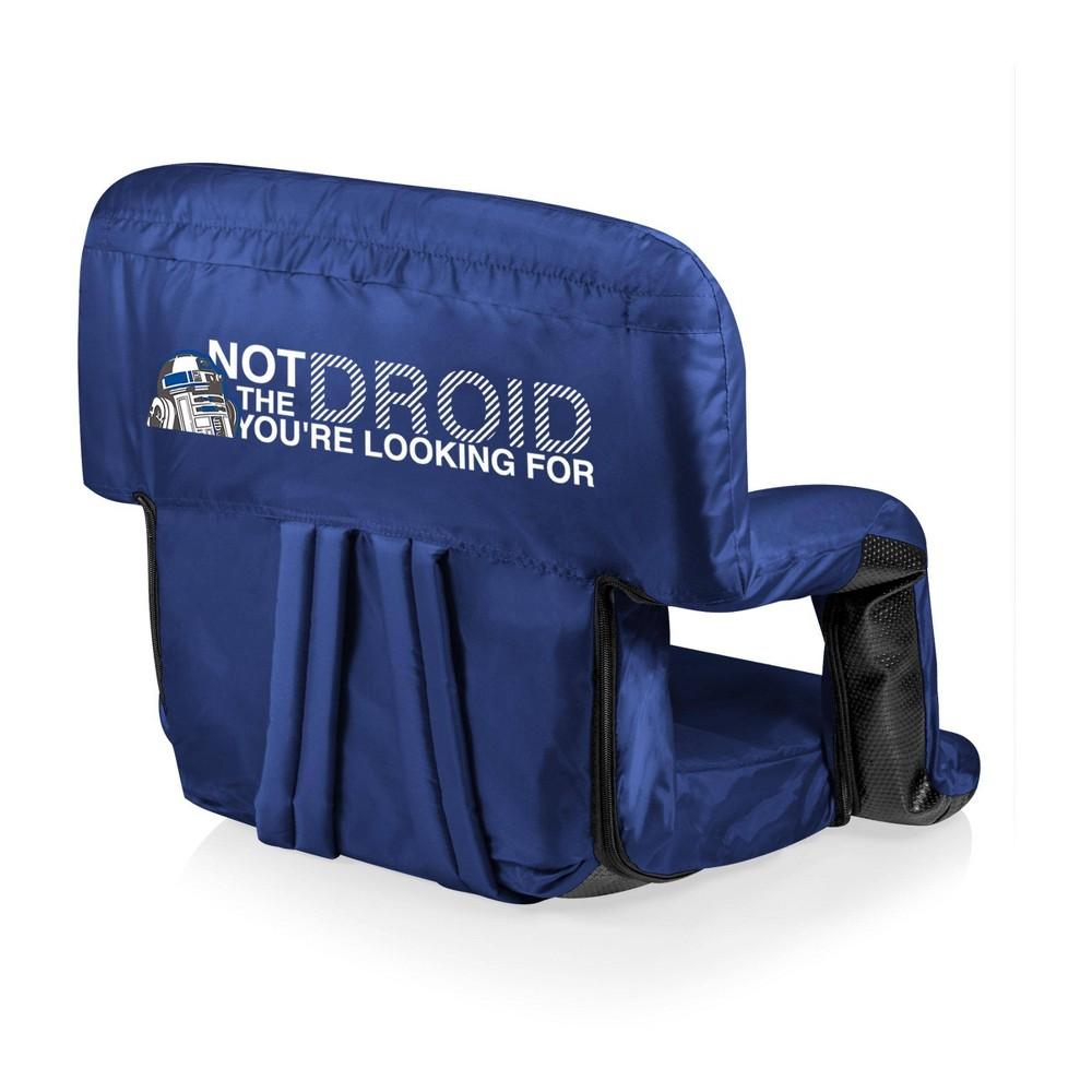 Picnic Time Star Wars R2 D2 Ventura Stadium Seat Navy Blue