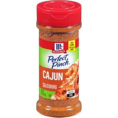 McCormick Perfect Pinch Gluten Free Cajun Seasoning - 5oz