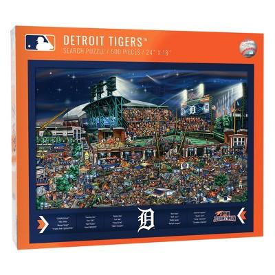 MLB Detroit Tigers 500pc Find Joe Journeyman Puzzle