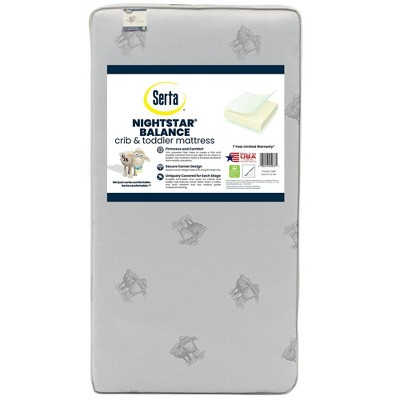 Serta Nightstar Balance Extra Firm Crib & Toddler Mattress