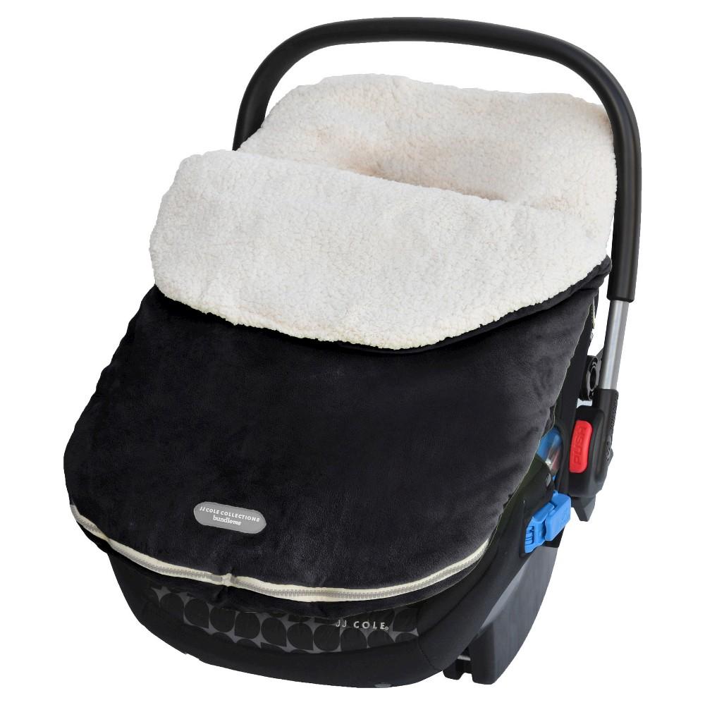 JJ Cole Infant Bundle Me with Therma Plush - Black