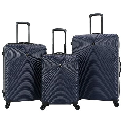 Skyline 3pc Spinner Hardside Luggage Set - Navy
